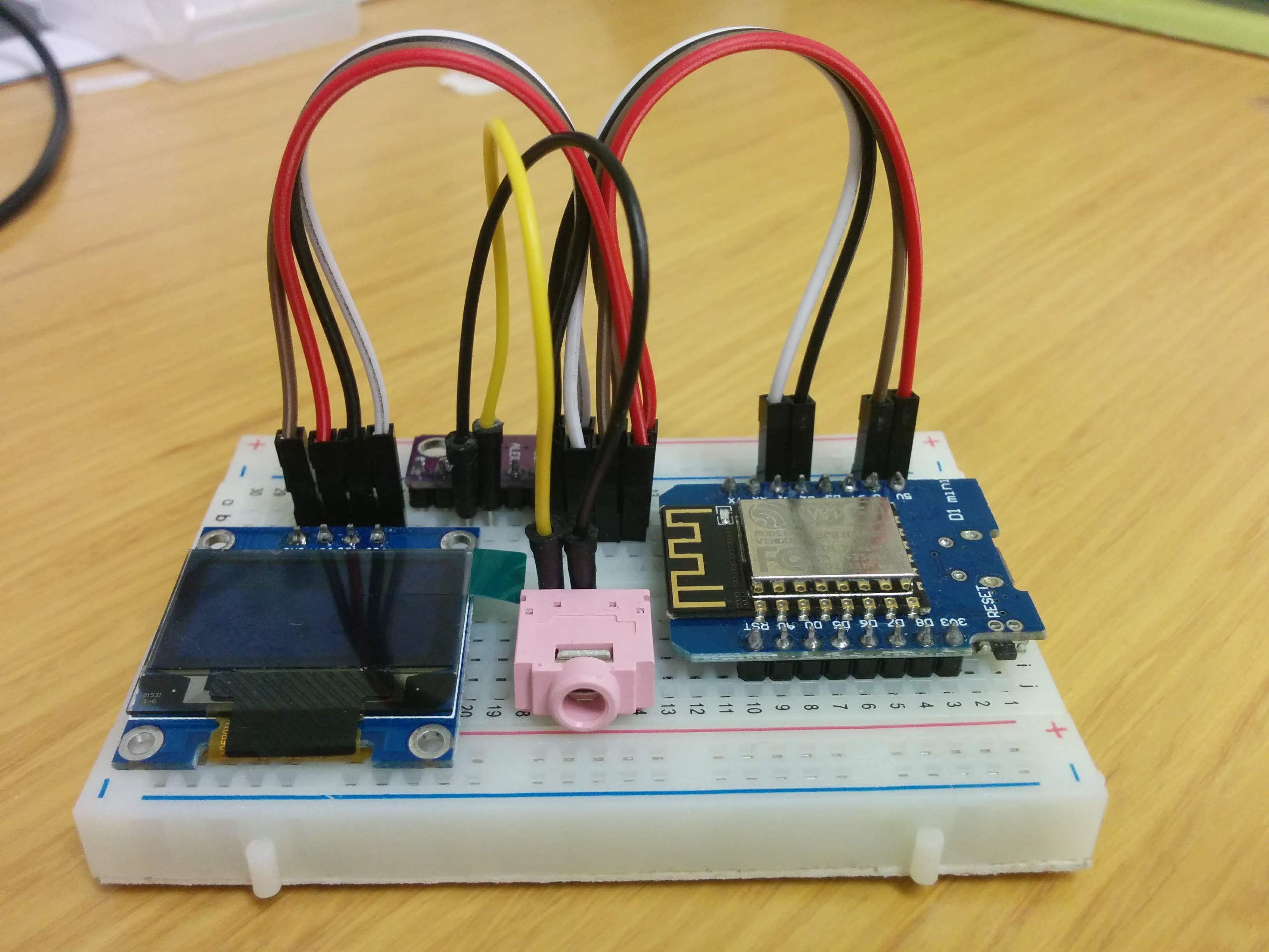 WeMos D1 Mini (b) sersor | Learn IoT with Arduino & ESP8266 Device