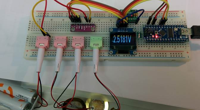 Arduino NANO (8) ADS1115 & OLED