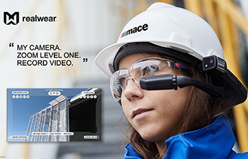 Mace Constructs a Smarter Way to Work with RealWear Wearables During Pandemic