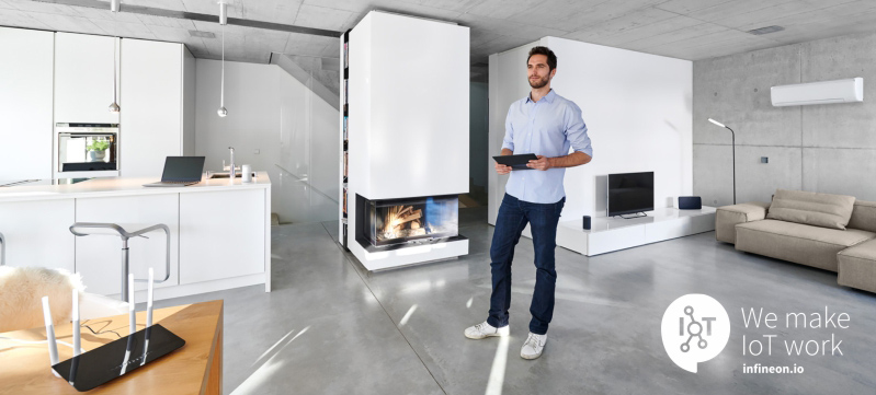 Smart Home wireless connectivity by Infineon