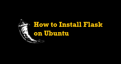 How to Install Flask on Ubuntu