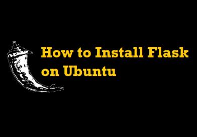 How to Install Flask on Ubuntu
