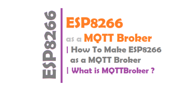 ESP8266 as a MQTT Broker