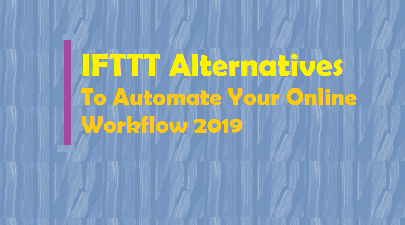 IFTTT Alternatives