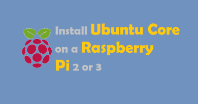 Install Ubuntu Core on Raspberry Pi