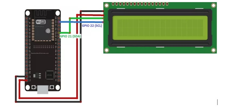 Fine How To Use I2C Lcd With Esp32 Using Arduino Ide Wiring Database Gramgelartorg