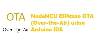 NodeMCU ESP8266 OTA