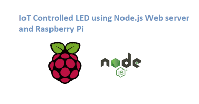 Control LED with Raspberry Pi using Nodejs