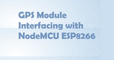 GPS Module Interfacing with NodeMCU ESP8266