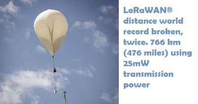 LoRaWAN distance world record broken