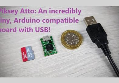 Piksey Atto: An incredibly tiny, Arduino compatible board with USB!