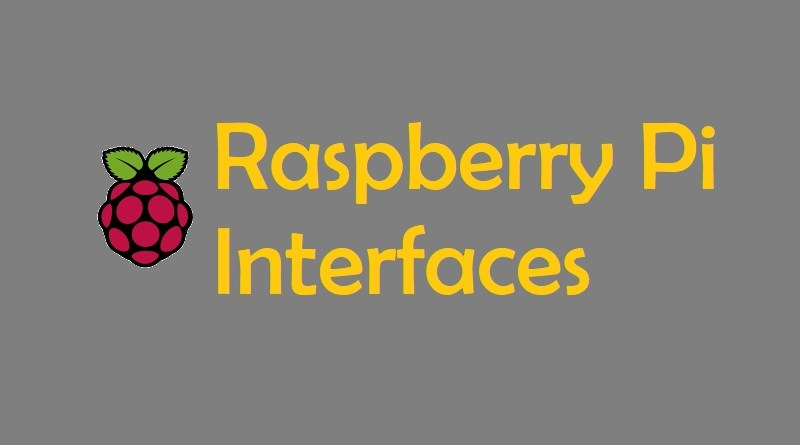Raspberry pi interfaces
