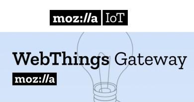 Mozilla WebThing Gateway