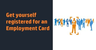 Get yourself registered for an Employment Card