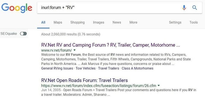 How to use Google to find forums in your niche