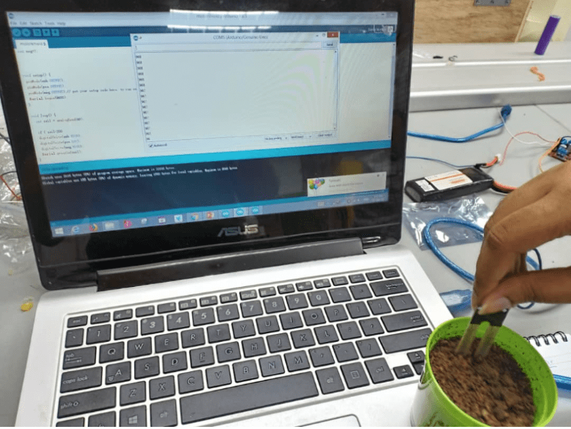 IOT Automatic Plant Watering System -