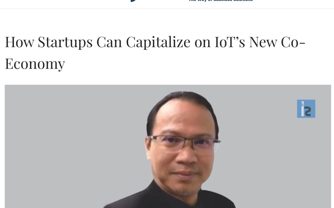 How Startups Can Capitalize on IoT's New Co-Economy – InsightsSuccess