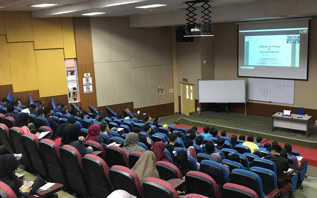 65 Students From UNIMAP Joined Generation-IoT Movement
