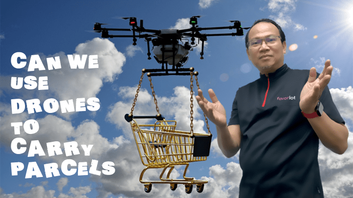 Can We Really Use Drones to Carry Parcels?