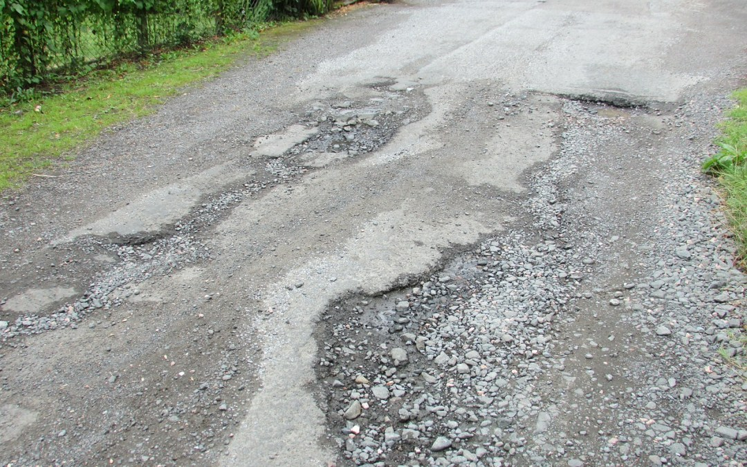 IoT Detect Potholes