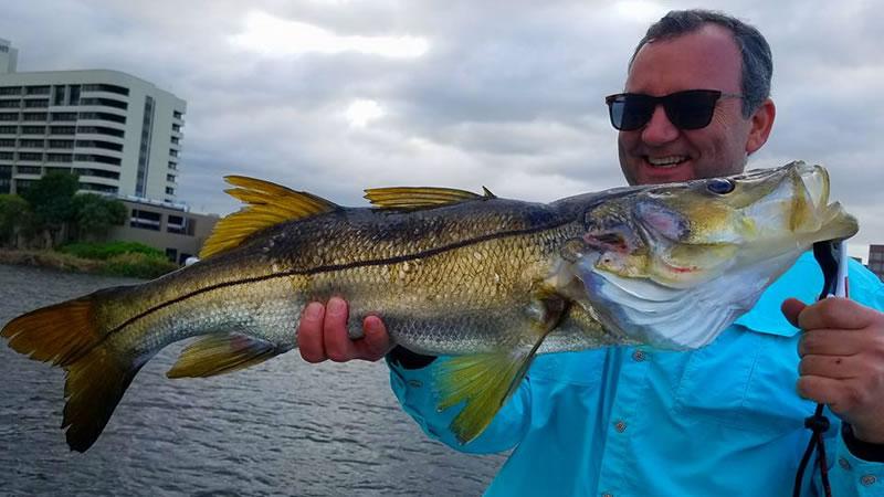 Miami Freshwater Snook Fishing
