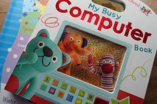 適合2歲以上,我的忙碌電腦小提書|My Busy Computer Book|還有四季天氣翻翻書