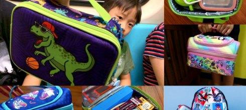 可愛潮!英國fringoo粉酷包 兒童午餐掛提二用包,還可當作小人副食品餐具包