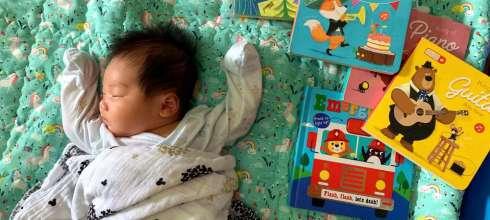 阿紅書單 適合小嬰的親子共讀,歡迎我們的阿紅來了
