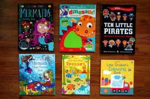 小孩不無聊書單|Travel Activity Pack旅行小背包|還有遊戲書,水畫冊,貼紙書,刮畫DIY,著色本
