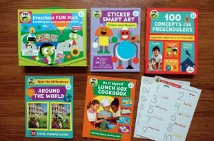 美國公共電視PBS Kids優質童書|Preschool FUN Pack|#1教育, 遊戲學習書盒