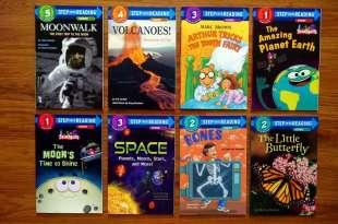 引導孩子閱讀英文的五階段讀本分享|Step into Reading|