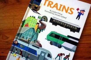 地表最威的火車大集合操作翻翻書 Ultimate Spotlight: Trains 今年不出國,在家共讀去旅行