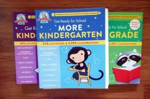 適合3-9歲的全包式全美教材|Get Ready for School系列