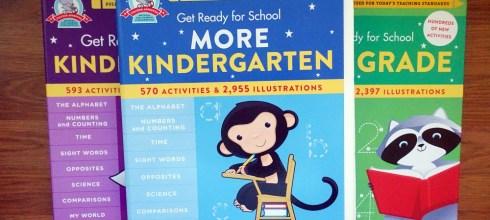 適合3-9歲的全包式全美教材 Get Ready for School系列