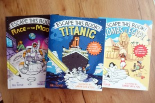 英文互動式讀本 Escape this Book Titanic 鐵達尼號逃脫遊戲讀本