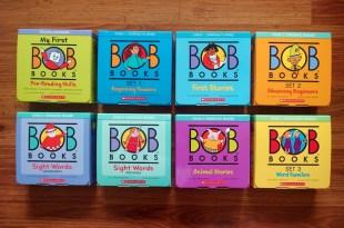 超過40年好評,最多老師與家長推薦|BOB Books小孩的第一套認字書(上篇)