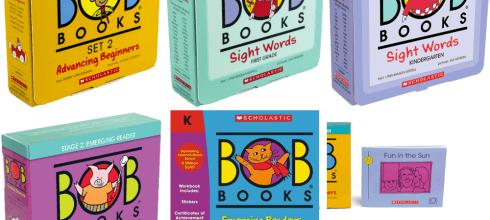 超過40年好評,最多老師與家長推薦 BOB Books小孩的第一套認字書(下篇)
