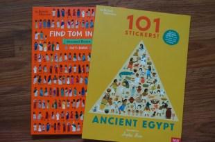 大英博物館的親子共讀書單|101 stickers ancient Egypt 埃及希臘羅馬三部曲