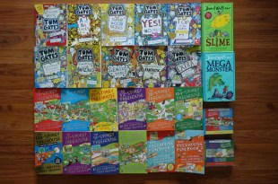 同大爺愛不釋手的英文橋樑小說:Tom Gates, Storey Treehouse 和 David Walliams兒童小說