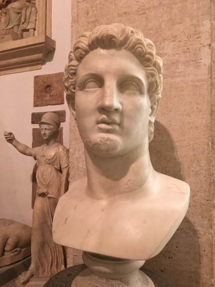 Bust of Alexander the Great. Capitoline Museums.