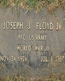 Joe Floyd headstone