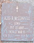 Ross McConnell gravestone
