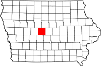 Boone County in Iowa