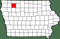 Clay County in Iowa