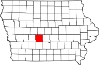 Dallas County in Iowa