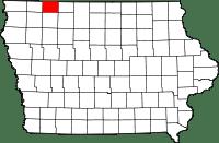 Dickinson County in Iowa