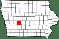 Guthrie County in Iowa