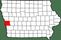 Harrison County in Iowa