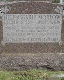 Helen Morrow gravestone