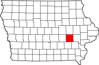 Iowa County in Iowa